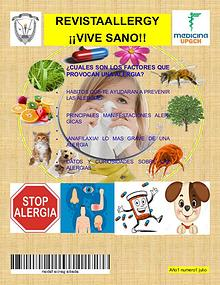 REVISTAALLERGY  ¡¡VIVE SANO!!