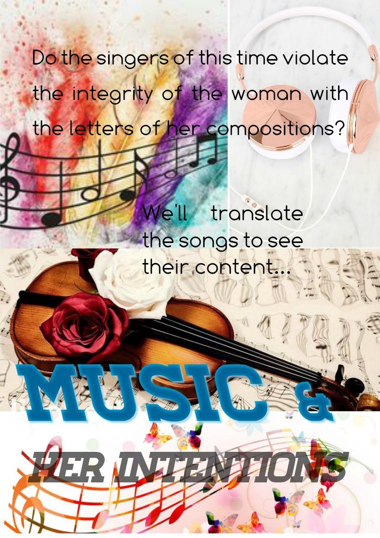 Mi primera revista Music & Her Intentions