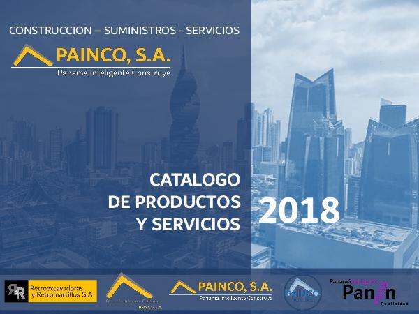CATALOGO PAINCO 2018 CATALOGO PAINCO 2018