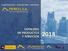 CATALOGO PAINCO 2018