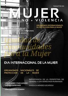 MUJER NO + VIOLENCIA