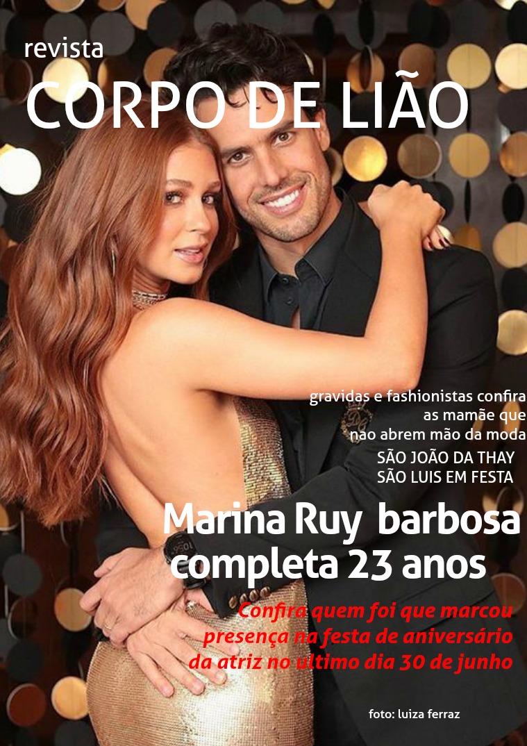 Revista Corpo de Lião Revista corpo de liao