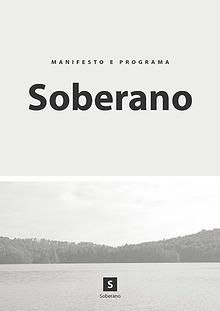 Manifesto e Programa SOBERANO