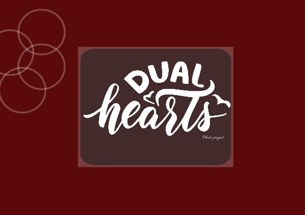 Dual Hearts photo project Digital Project