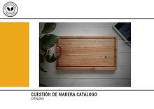 Catálogo Cuestión de Madera
