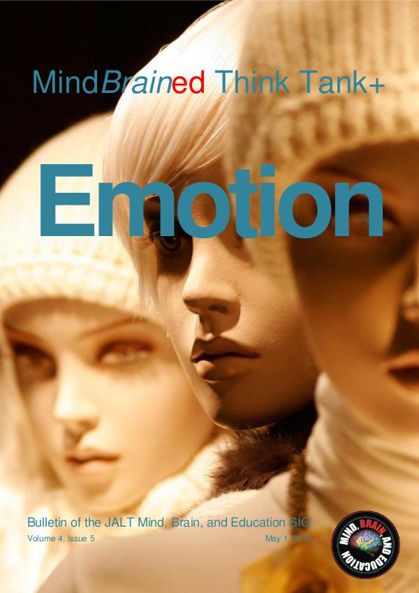 5 MindBrainEd Bulletin V4i5 Think Tank Emotion May