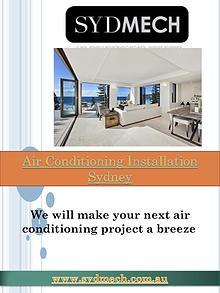 Air conditioning Sydney | http://www.sydmech.com.au/