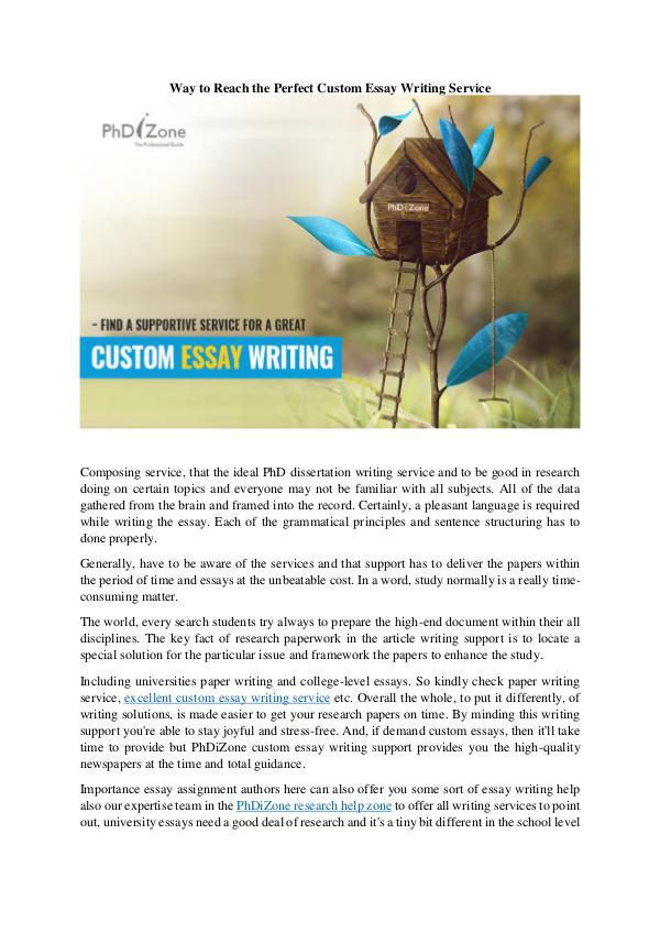 Essay Writing Custom Essay Writing Service_1