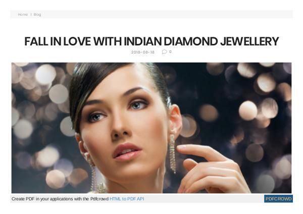 Diamond Earrings Online Jewellery indian diamond jewellery