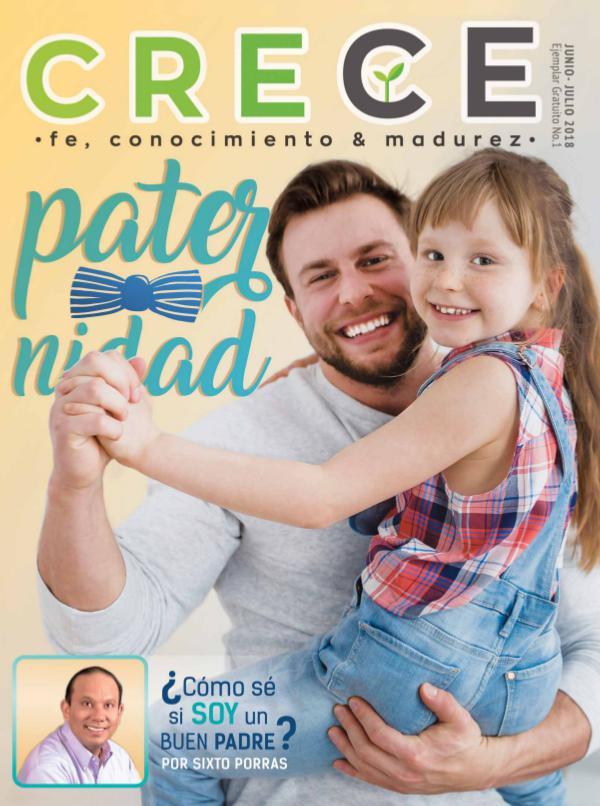 """Revista Crece """"Paternidad"""""""