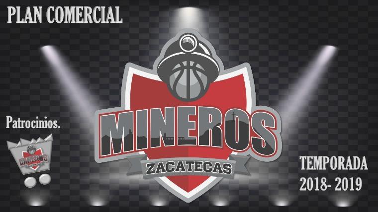 Plan Comercial, club de baloncesto Mineros Zacatecas LNBP Mineros Plan Comercial Mineros productos 18 -19