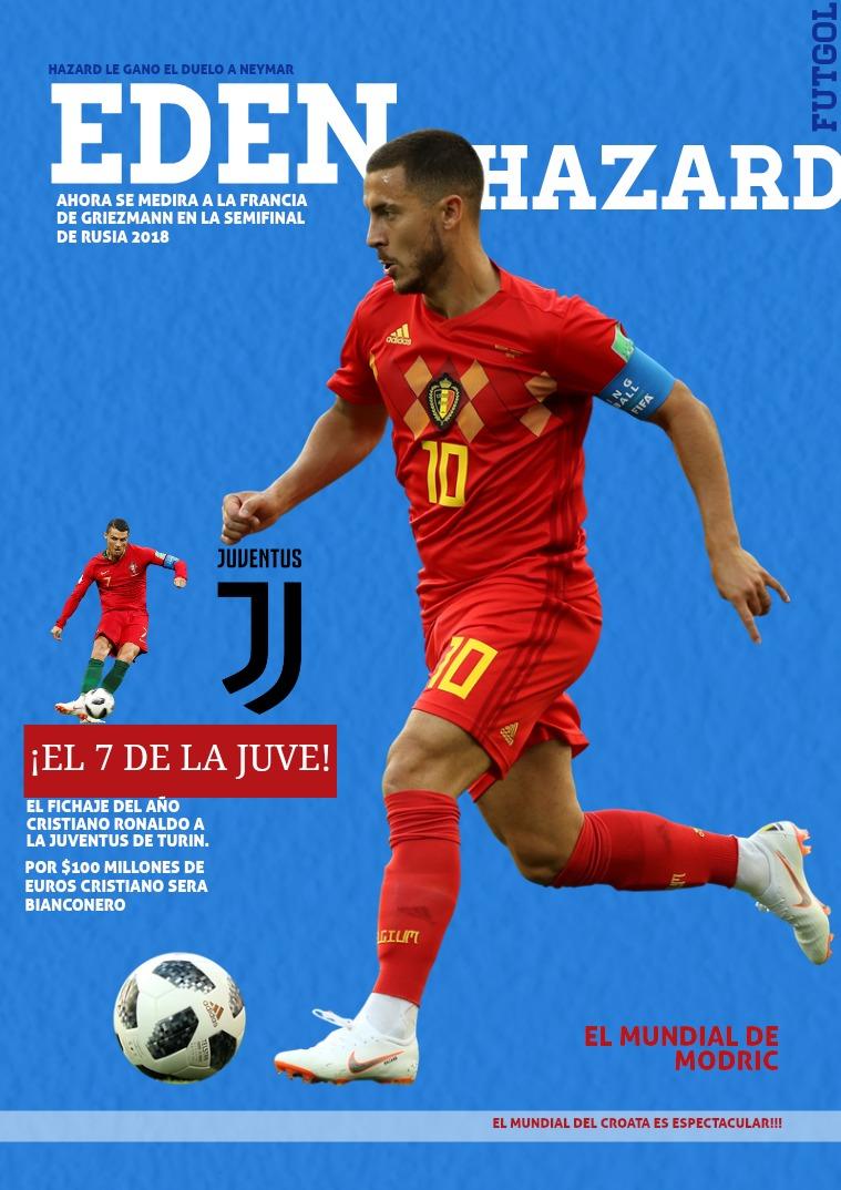 Eden Hazard La Estrella del Mundial ejemplar 1