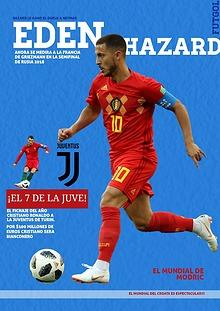 Eden Hazard La Estrella del Mundial