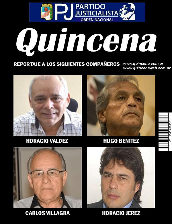 Revista Quincena Partido Justicialista