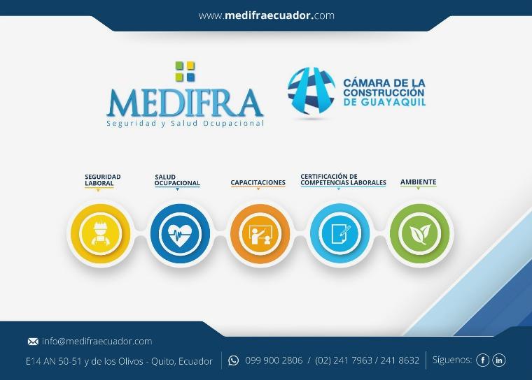 Brochure MEDIFRA Seguridad y Salud Ocupacional