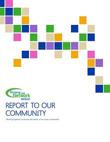 Mosaic PCN Report to Our Community