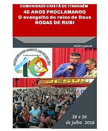 COMUNIDADE CRISTÃ DE ITANHAÉM