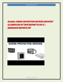 Global Surge protection devices Market Product Picture and Specificat