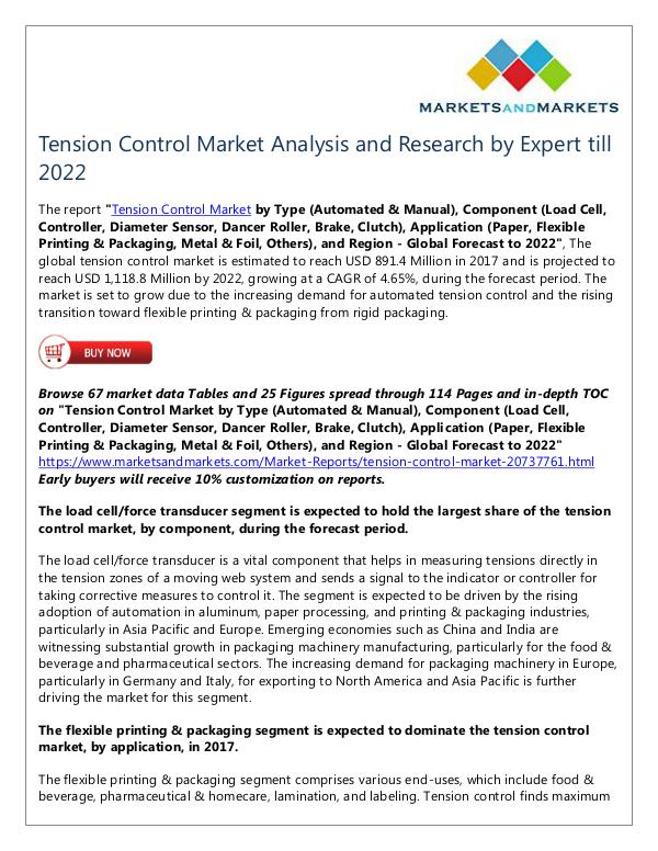 Energy and Power Tension Control Market