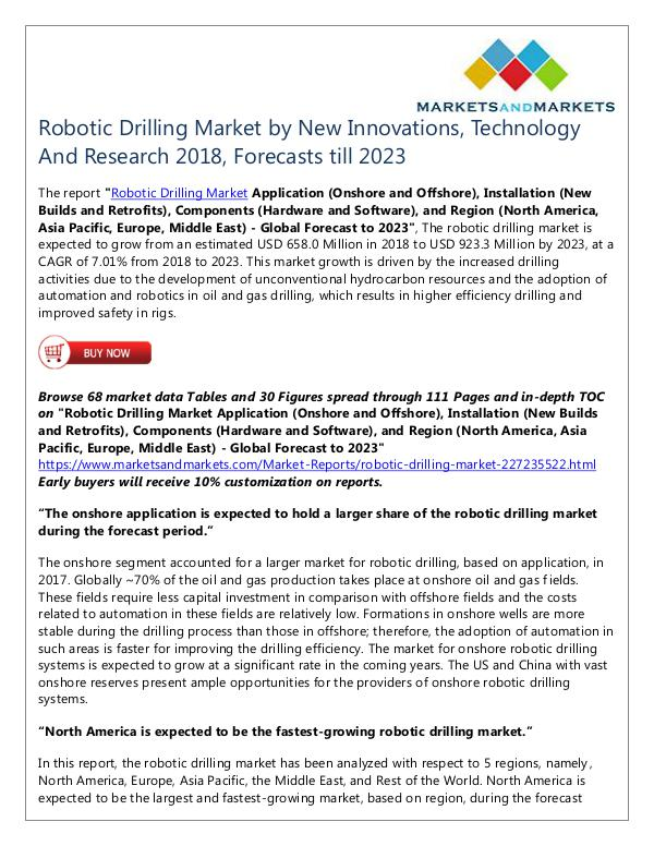 Energy and Power Robotic Drilling Market