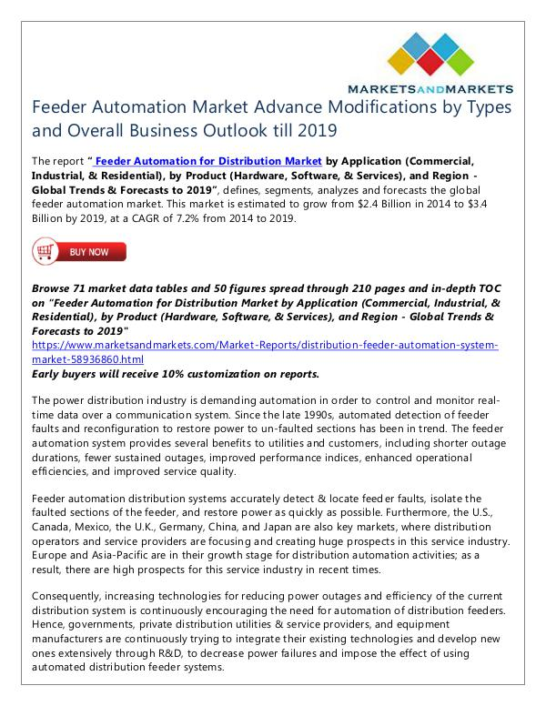 Energy and Power Feeder Automation Market