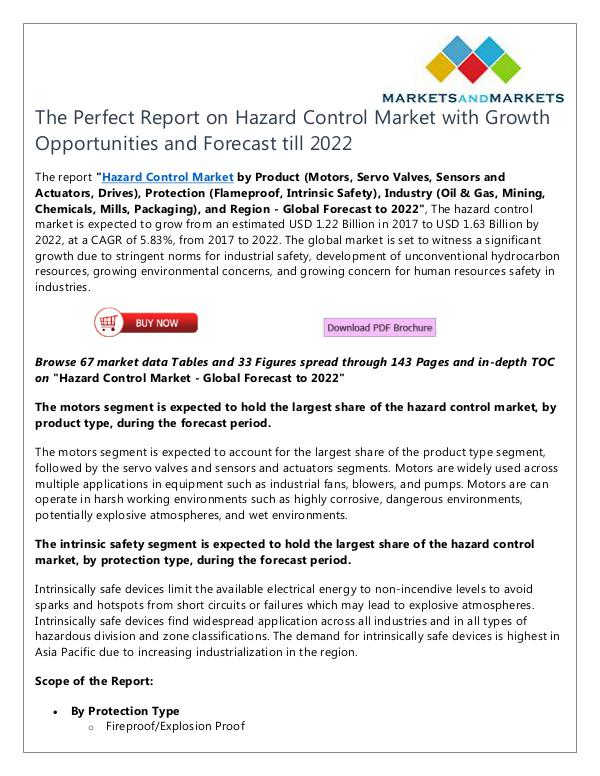 Hazard Control Market