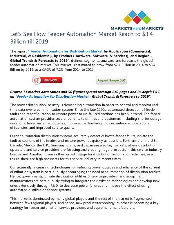Feeder Automation Market