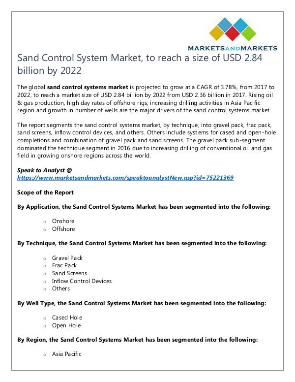 Sand Control System Market2