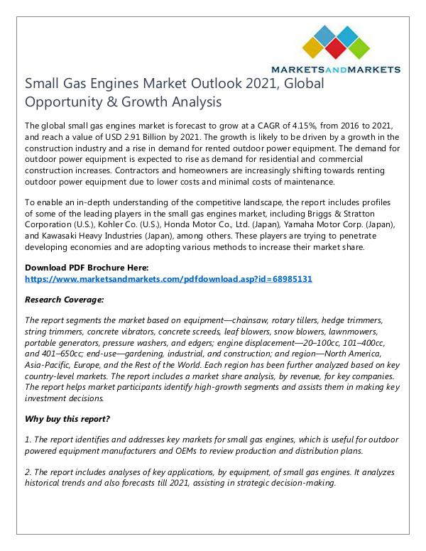 Energy and Power Small Gas Engines Market2