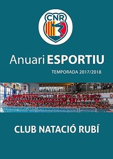 Anuari Esportiu Club Natació Rubí 2017/2018
