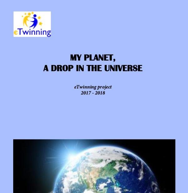 My planet, a drop in the Universe revista