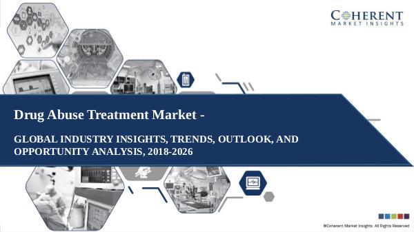 Pharmaceutical Industry Reports Drug Abuse Treatment Market