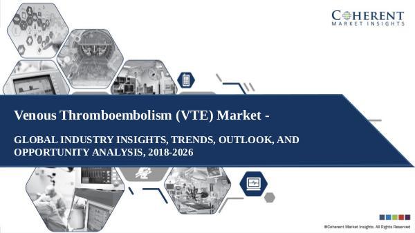 Pharmaceutical Industry Reports Venous Thromboembolism (VTE) Market