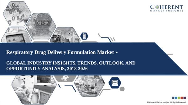 Medical Devices Industry Reports Respiratory Drug Delivery Formulation Market Outlo