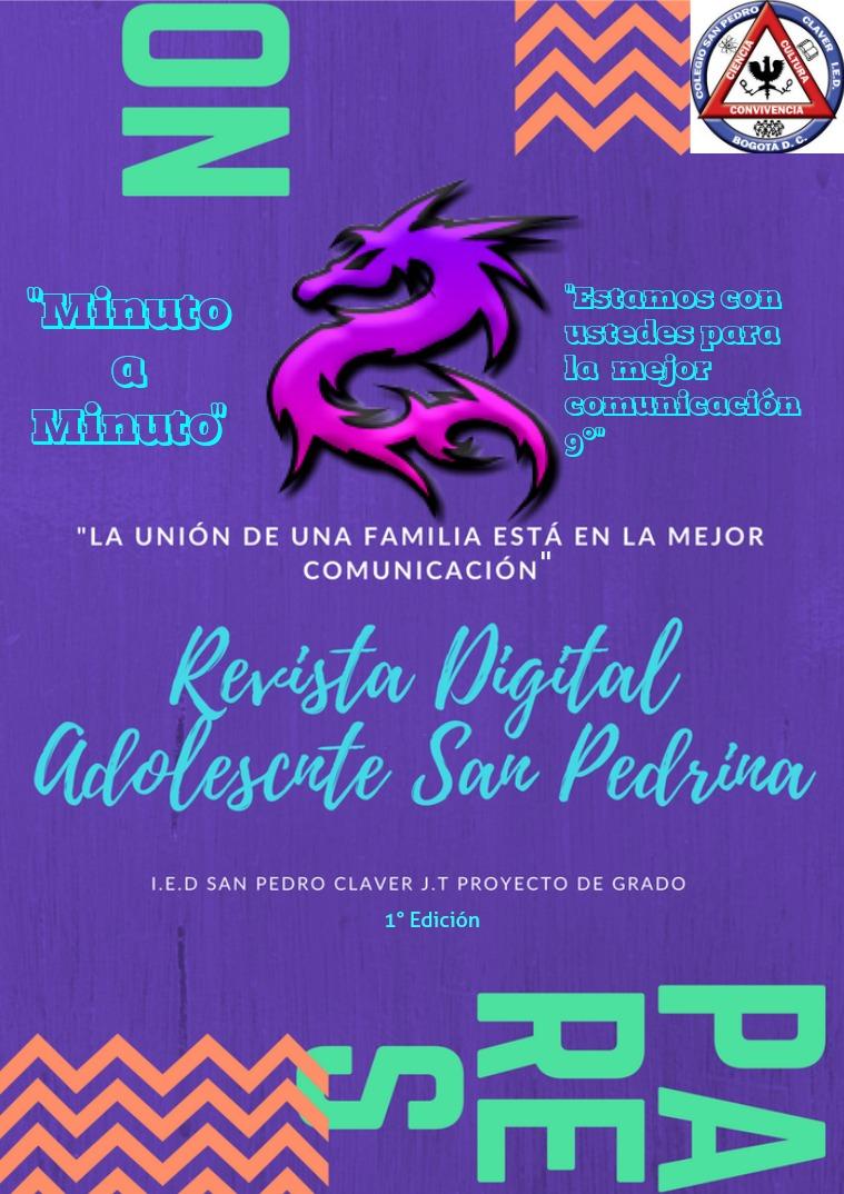 Revista Digital Adolescente San Pedrina edición 1