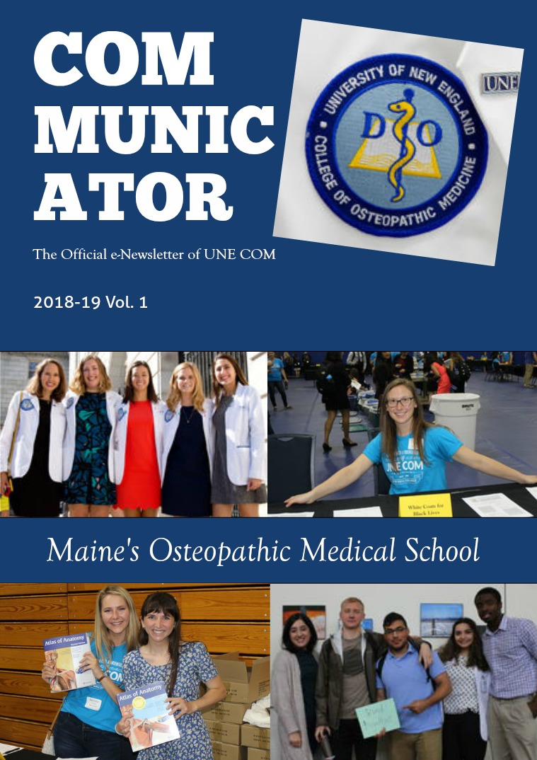 The COMmunicator 2018-19 Vol. 1