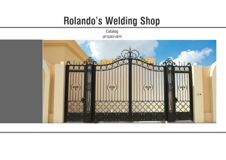 Rolando's Welding Shop Rolando's Welding Shop