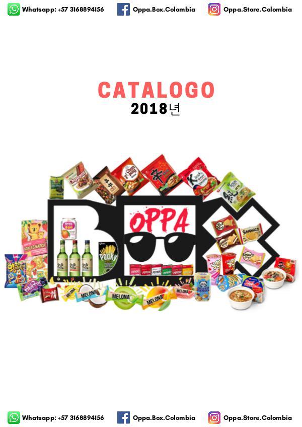 CATALOGO OPPA STORE COLOMBIA Catalogo Oppa Store 2018