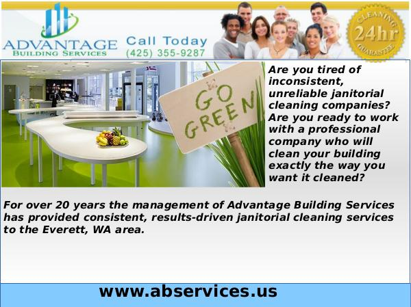 Custodial Service Commercial Cleaning Services