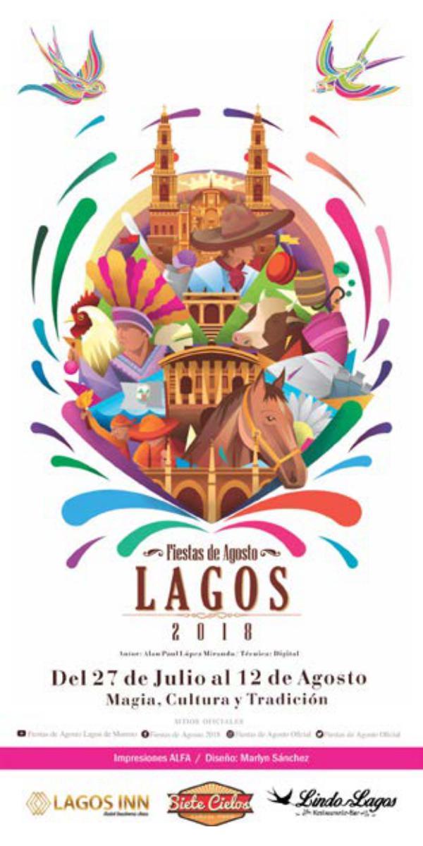 Programa Feria Lagos 2018 Fiestas de Agosto 2018 Programa