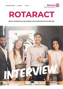 Interview du Rotaract Club Coeur du Nord