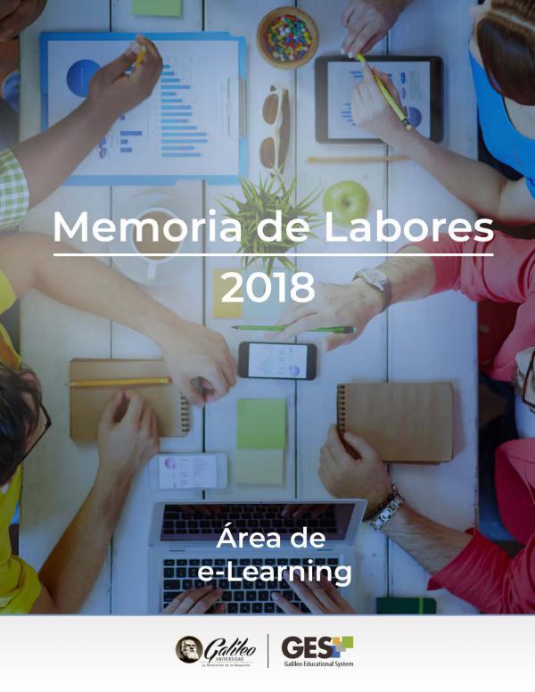 Memoria de labores 2018 Memoria de Labores 2018 final