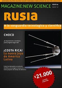 Rusia,Choco y Costa rica: A La Vanguardia Tecnologicos