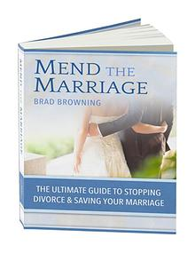 Brad Browning: Mend The Marriage Free, Book Program Download