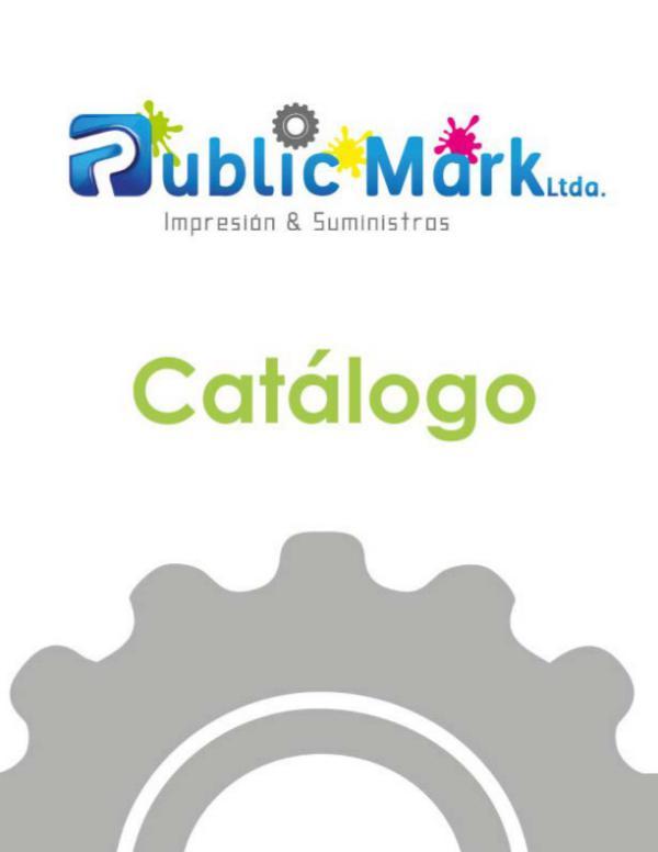 Catálogo Public Mark Ltda Catálogo Publis Mark Ltda
