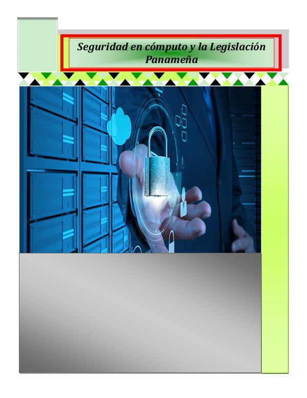 Seguridad en Cómputo y Legislación Panameña seguridad en computo y legislacion panamena