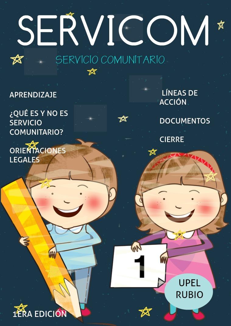 """SERVICOM"" Servicio Comunitario Servicom"