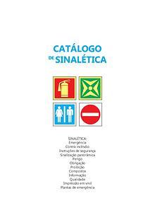 Catálogo de sinalética