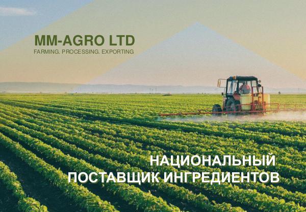 MM AGRO Презентация компании. 2018